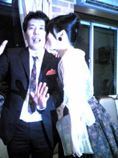 ジョニーと尚美姉さん。