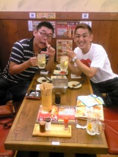 新世界で串カツ♪  with  <br />  仙志郎
