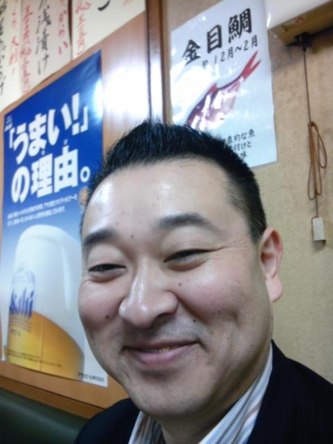 まるで仏様のような楽京師匠の笑顔。