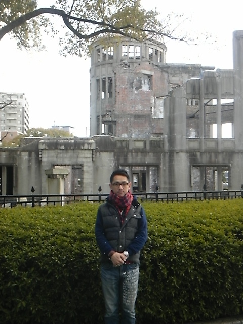 広島に来た!