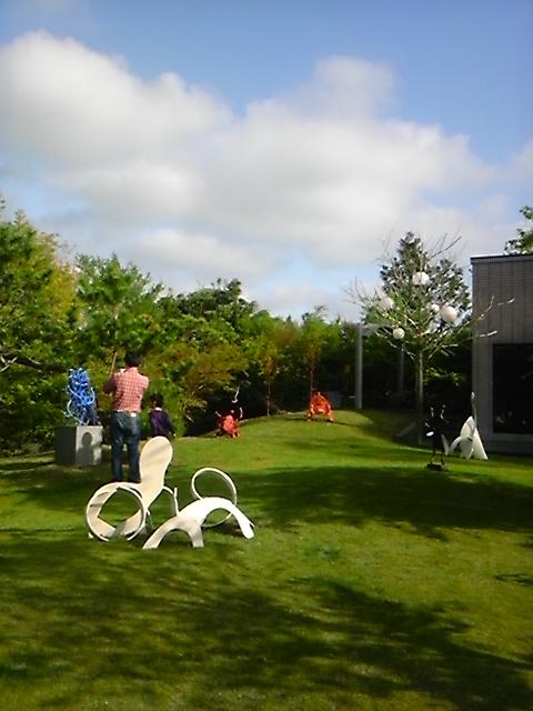 松山庭園美術館は素晴らしい!